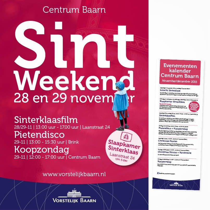 A0 Poster Sint weekend