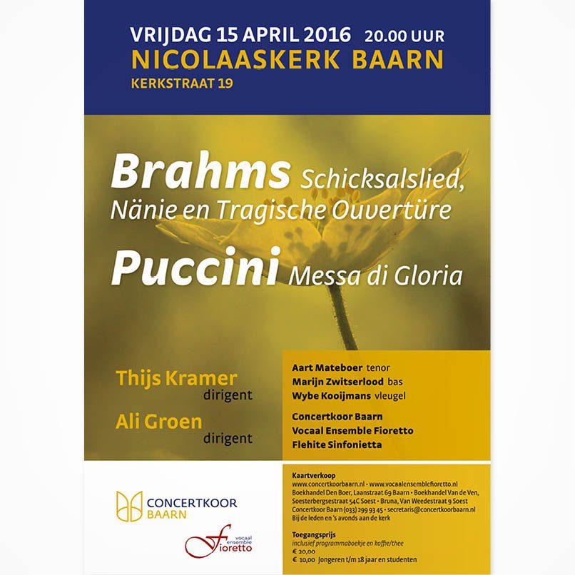 poster concert in Baarn