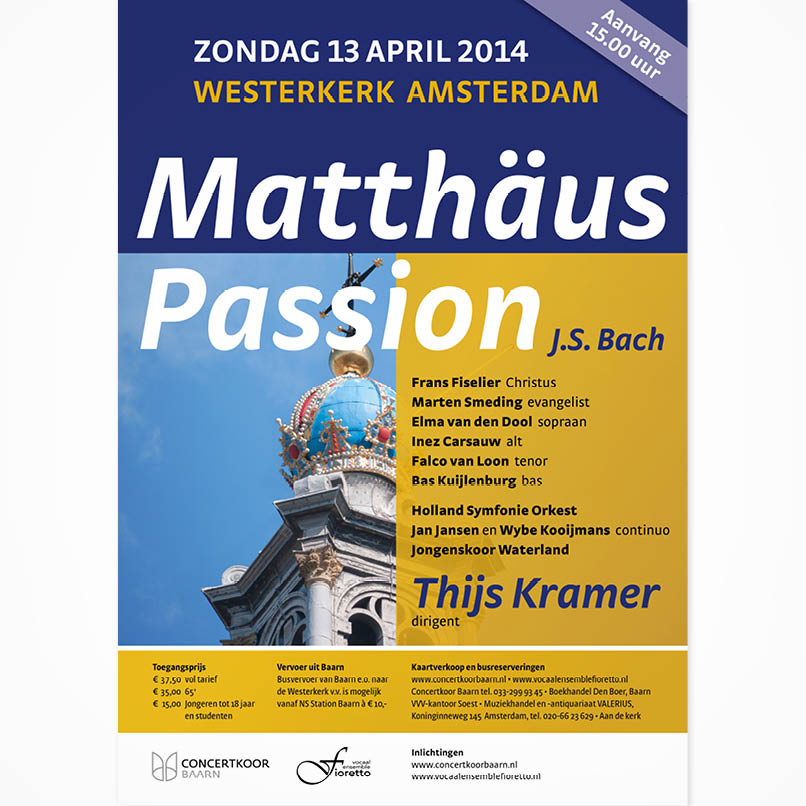 poster concert in Amsterdam