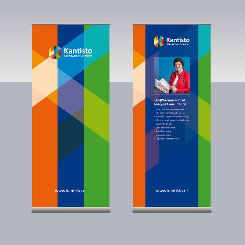 roll-up banner Kantisto