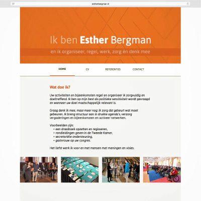website Esther Bergman
