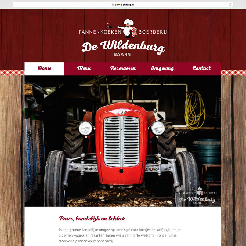website De Wildenburg