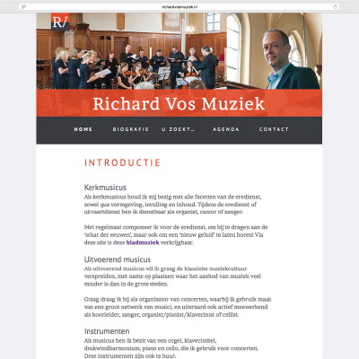 website Richard Vos