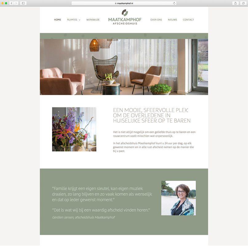 website Maatkamphof
